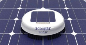 scrobby-solar panel cleaning robot